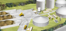 Biogas Plant Development